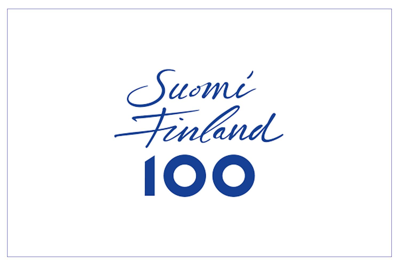 Logo Suomi Finland 100